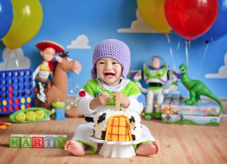 Sesion Fotos Bebe Pastel Toy Story