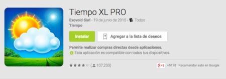 Tiempo Xl Pro