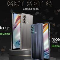 Moto g40 Fusion y Moto g60 con 120 Hz y 108 megapixeles: Motorola confirma sus próximos smartphones para la gama media-alta