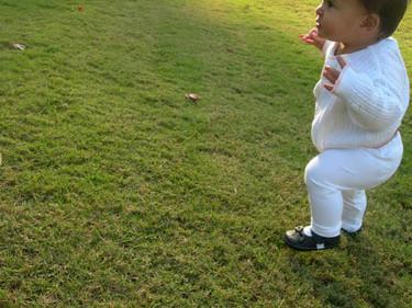 Los primeros pasos del bebé