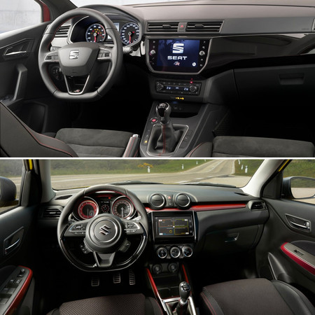 Ibiza Y Swift Sport Interior