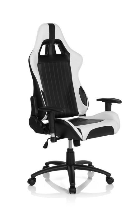 El sillón de oficina HJH Office Monaco Ii en negro y blanco cuesta sólo 188,23 euros en Amazon
