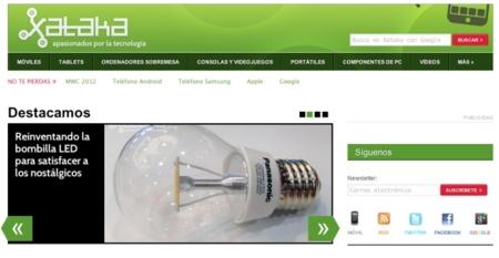 nuevo diseño Xataka 2012