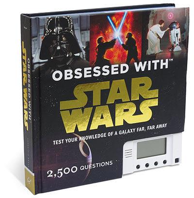 Libro con trivial para obsesos de Star Wars