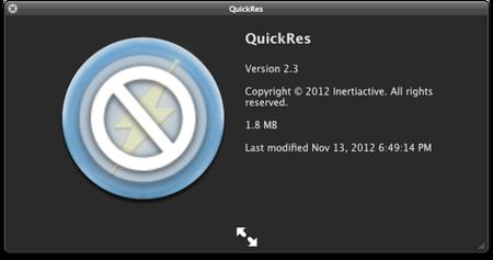 Quickres, saca el máximo provecho a la pantalla Retina de tu Mac