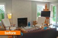 Antes y después: cambia de salón tapizando los muebles