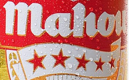 Detalle de bodegón de cerveza Mahou