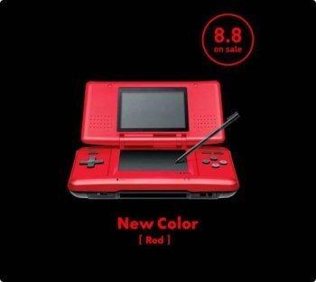 La Nintendo DS se viste de rojo