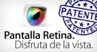 Retina, marca registrada, ya es propiedad de Apple