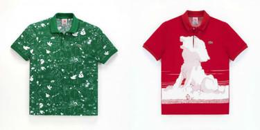 La colección de Osamu Tezuka para Lacoste L!VE