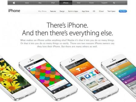 Apple iPhone nueva web