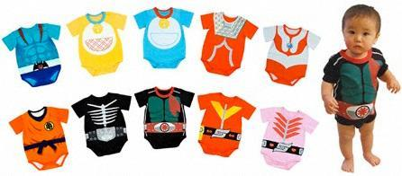 Disfraces cosplay para los más peques de la mano de Bandai