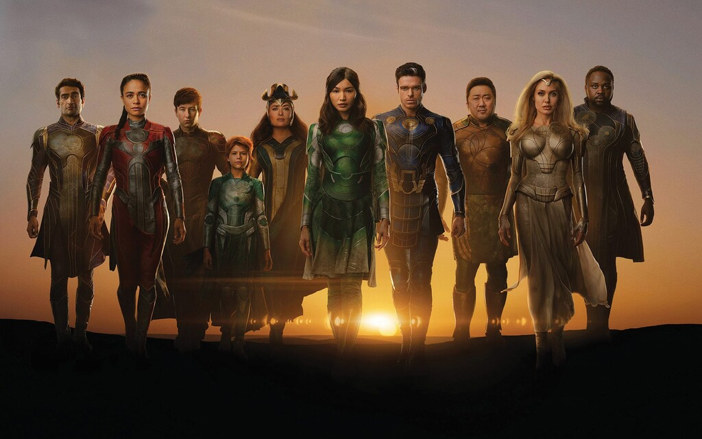'Eternals' será la segunda película más larga de Marvel y tendrá dos escenas postcréditos vitales para el futuro de este universo de superhéroes