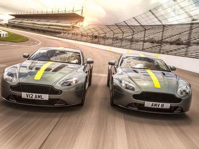 Pura competición británica homologada, así son las 300 exclusivas unidades del Aston Martin Vantage AMR
