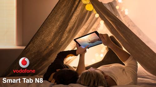 Vodafone Smart Tab N8, la tablet low cost con conectividad 4G y Android Nougat