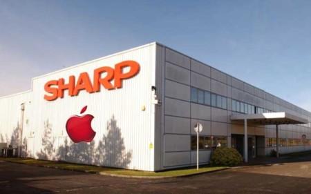 Sharp ya lleva tiempo fabricando para Apple