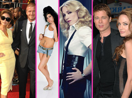 Amy Winehouse, los Beckham, Brangelina y Madonna convertidos en Legos