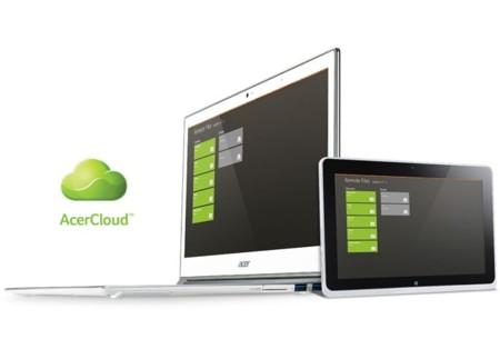 Acer expande su servicio en la nube a los dispositivos móviles