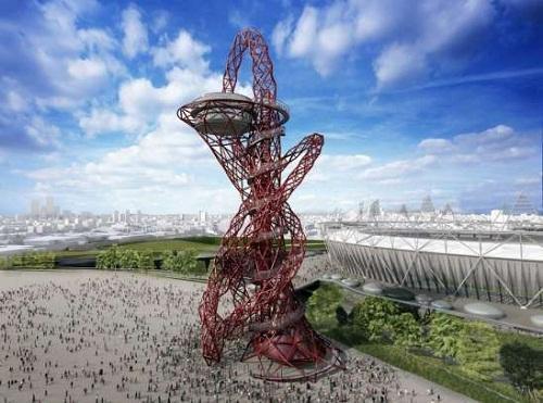 ArcelorMittal Orbit, la torre que tendrá la Villa Olímpica en Londres 2012