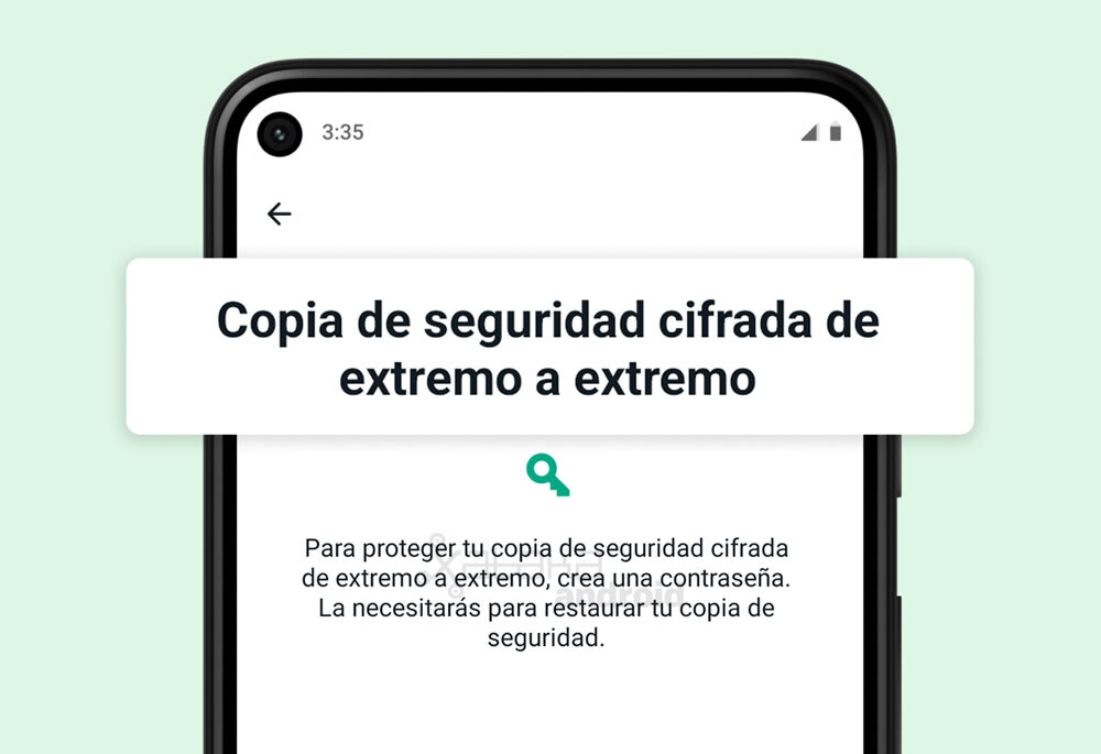 WhatsApp lanza la copia de seguridad cifrada de intenso a intenso para todo el mundo: así se activa