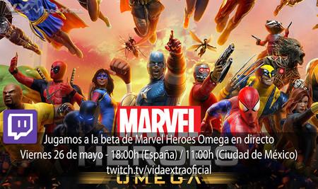 Streaming de la beta de Marvel Heroes Omega a las 18:00h (las 11:00h en Ciudad de México)