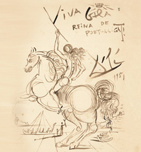 Viva Gala Reina de Port Lligat