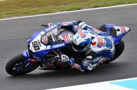 Sylvain Guintoli Yamaha R1 Superbikes Australia 2016