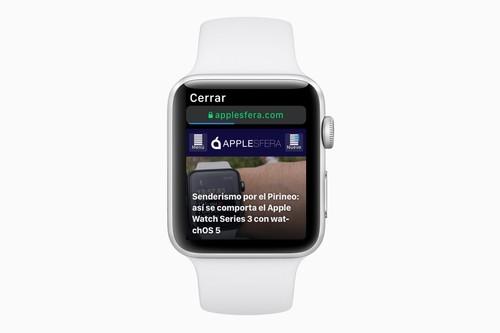 La función que estabas esperando: cómo navegar por Safari y utilizar Google en el Apple Watch con watchOS 5 [Actualizado]