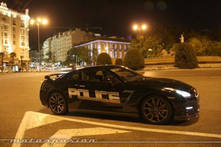 Nissan GT-R Police Edition