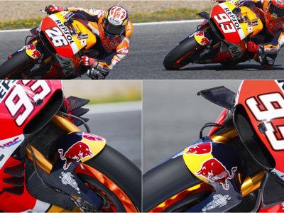 """Marc Márquez y su moto con seis alerones: """"Prefiero que se quiten, aunque nos estén dando una ventaja"""""""