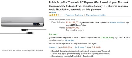 Macbook Belkin Thunderbolt 2 Express Amazon
