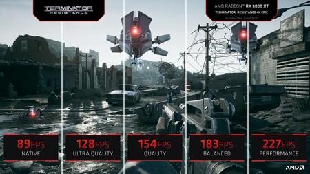 Amd Fsr Quality Mode Performance Comparison 4k Terminator