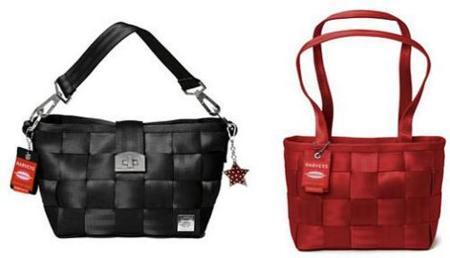 Bolsos hechos con cinturones de seguridad y buen diseño