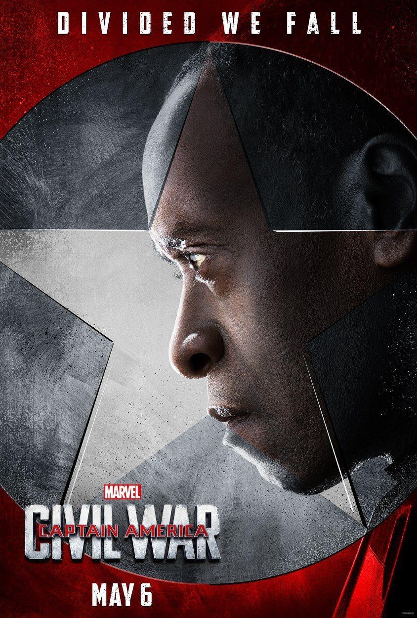 Foto de 'Capitán América: Civil War', nuevos carteles de los protagonistas (8/11)