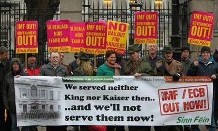 Ireland Parliament Protes 010