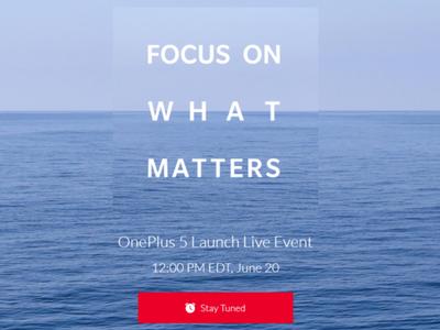 El OnePlus 5 ya tiene fecha: el 20 de junio conoceremos al próximo 'flagship killer'