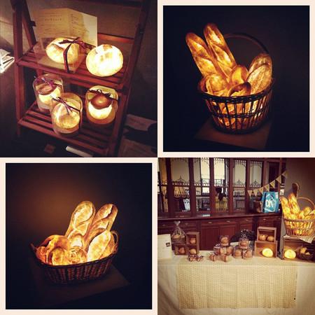 Voy a la panadería a comprarme una lámpara