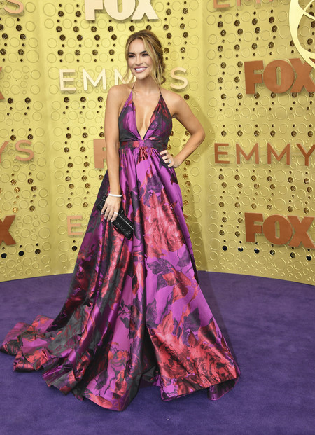 Chrishell Hartley Michael Costello Emmy 2019 01