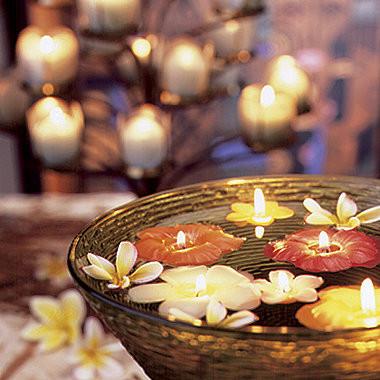 Decorar con velas II: Cómo colocarlas