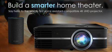Optoma añade compatibilidad con Google Assistant y IFTTT a sus nuevos proyectores para cine en casa