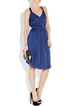 vestido azul theyskens