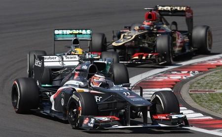 """Sauber anuncia un nuevo patrocinio que les ayudará salvar el """"match ball"""""""