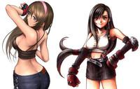 Dead Fantasy III: Hitomi de 'Dead or Alive' contra Tifa de 'Final Fantasy VII'