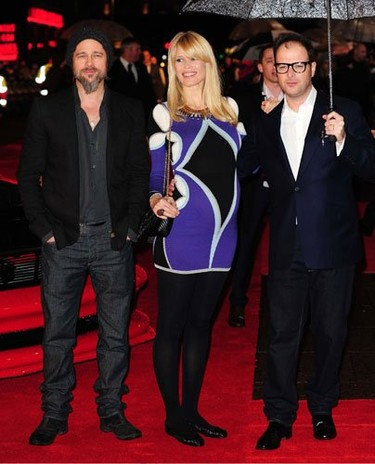 El look de Claudia Schiffer en la premiere de Kick-Ass