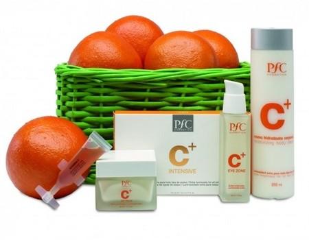Línea Vitamina C+ de PfC Cosmetics, luminosidad y buen tono desde el primer día