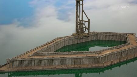 Así se construían los puentes en el siglo XIV: este fascinante vídeo en 3D recrea paso a paso el desafío de la época