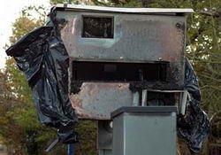 Galería de radares quemados en Inglaterra
