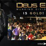 ¿Ves ese diminuto disco de la imagen? Eso es que Deus Ex: Mankind Divided ya es Gold