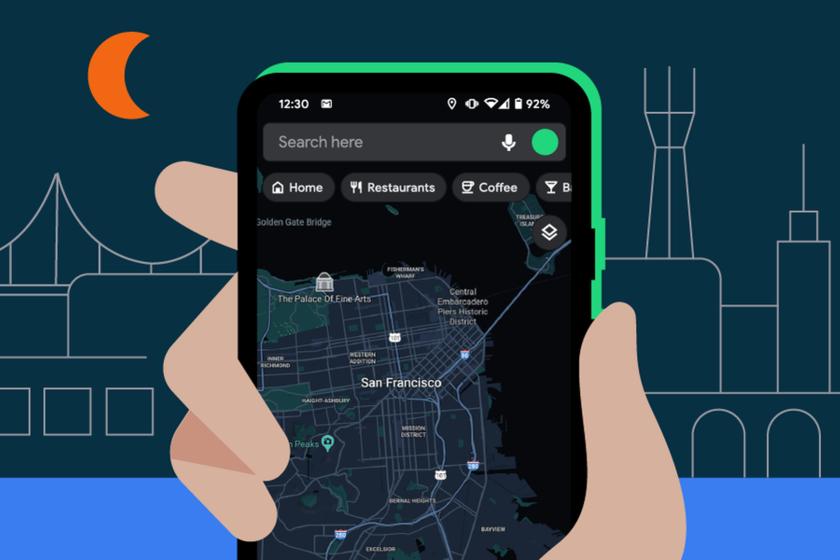 Qué es y cómo activar el modo oscuro en Google Maps
