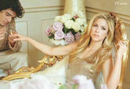 Shakira en Vanity Fair